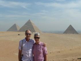 Ian and Lorraine Egypt